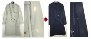 【脱色の染例】綿コート