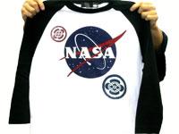 柄Tシャツ(宇宙の柄と合わせて)
