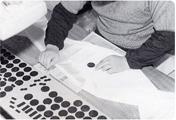 3、紋糊置作業