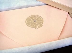 【桐箱入り】名入れ無し 366日の花個紋入り絹袱紗
